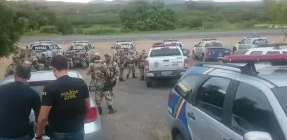 Oito pessoas envolvidas na morte de policial em Santa Cruz do Capibaribe são mortas na Paraíba