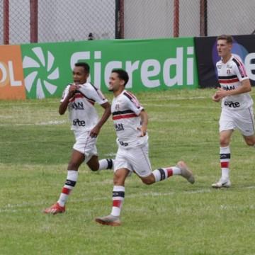 Santa Cruz estreia com vitória por 3 x 1 na Copa São Paulo