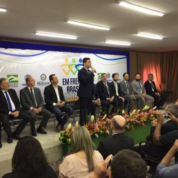 Ministro Sérgio Moro acompanha ações do Programa da Força Nacional em Paulista