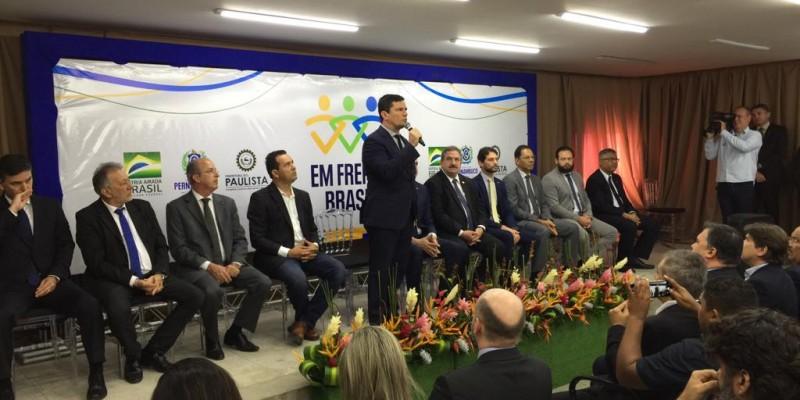 Moro disse que a ideia é unir forças para reduzir as criminalidade em cidades que tenham índices problemáticos