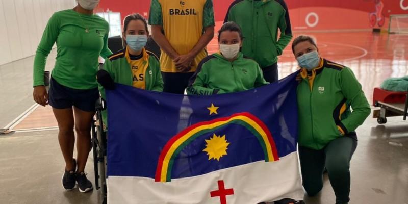 O Estado tem 12 representantes no Japão que estão com sede de medalhas na natação, bocha, atletismo, futebol de 5, goalball e tênis de mesa