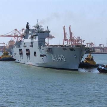 Navio e fragata da operação Amazônia Azul estão abertos a visitação no Recife
