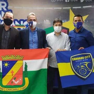 Caruaru City é o mais novo clube de futebol profissional de Pernambuco
