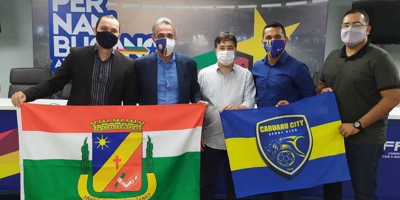 A nova equipe caruaruense pretende disputar a série A2 do estadual neste ano