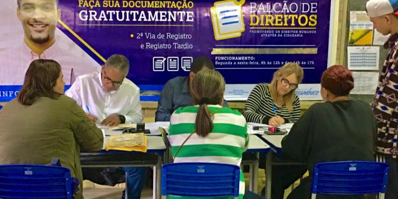 A Ação de Cidadania vai levar diversos serviços gratuitos para população no bairro São João da Escócia