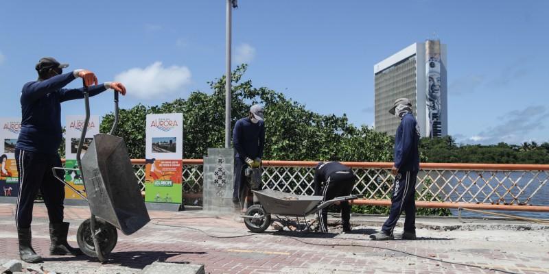 A Rua da Aurora, um dos cartões portais do Recife, vai ganhar um novo visual em breve