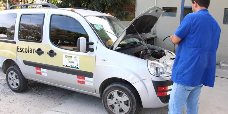 Os veículos que atuam no estado devem passar pela primeira inspeção obrigatória na próxima segunda-feira (06)