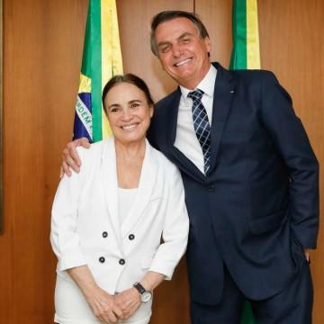 Regina Duarte aceita convite para ser secretária de Cultura
