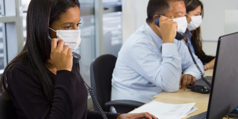 A depender do ramo de atuação das empresas, os cuidados podem mudar principalmente na estrutura física do ambiente de trabalho