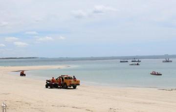 Prefeitura do Ipojuca reforça fiscalização nas praias por causa do lockdown nos municípios vizinhos