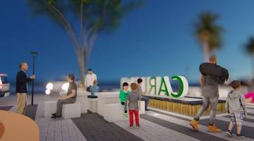 Prefeitura revitaliza área de convivência no centro da cidade