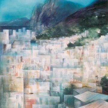 Mostra  Contemplação  exibe obras de sete artistas em telas e fotografia