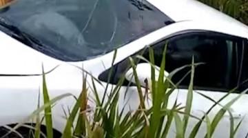 Acidente na Mata Sul envolve carro de passeio e veículo de transporte alternativo