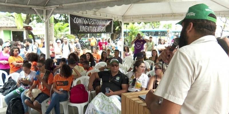 O evento é organizado pelo Fórum das Juventudes de Pernambuco