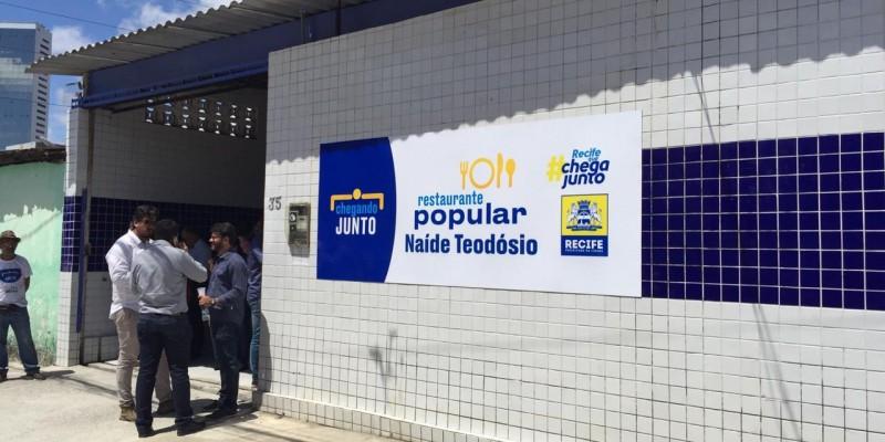 Segundo a prefeita do Recife, vão ser ofertados 750 almoços por dia