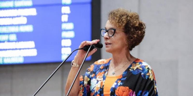 A Deputada Laura Gomes participou do programa