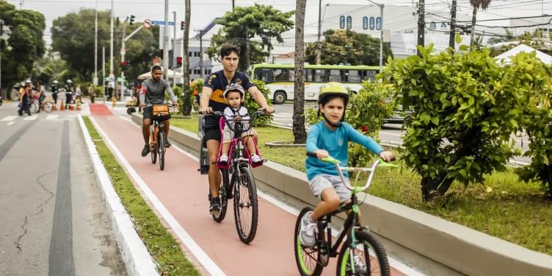 Com a inauguração da ciclovia Jornalista Graça Araújo, a cidade passa a contar com 84,5 km de rotas cicloviárias.
