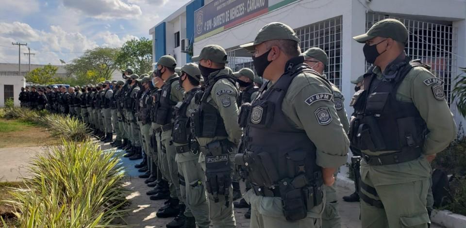 PMPE desencadeia em Caruaru Operação Impacto Integrado