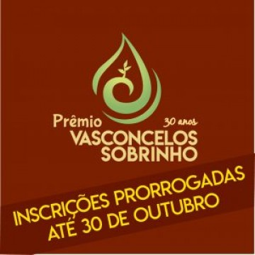 Inscrições para o Prêmio Vasconcelos Sobrinho estão na fase final