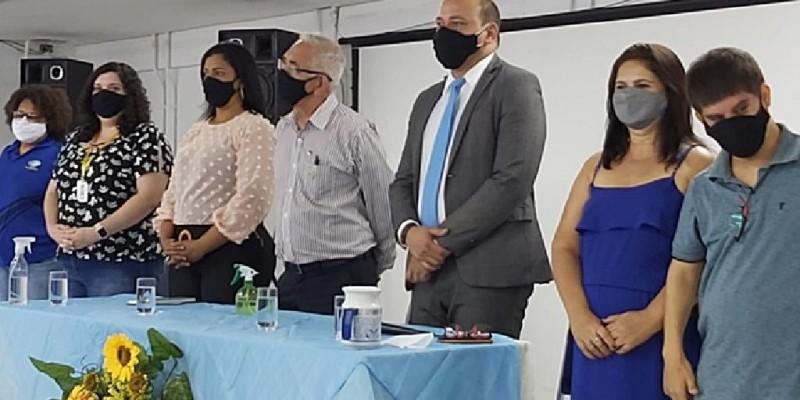 Na ocasião os gestores da cidade apresentaram o projeto arquitetônico do Centro Integrado da Pessoa com Deficiência