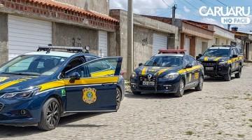 PRF localiza depósito de alimentos roubados em Caruaru