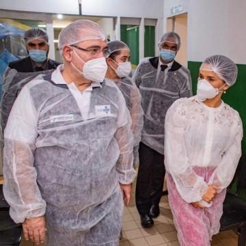 Ministro da Saúde, Marcelo Queiroga, visita cidades do Agreste