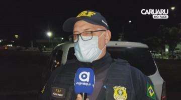 PRF FALA SOBRE A APREENSÃO DE 30 kg DE MACONHA EM CARUARU