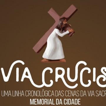 """Exposição virtual """"Via Crucis"""" reúne peças no Memorial da Cidade de Caruaru"""