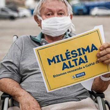 Hospitais de Campanha da Prefeitura do Recife registram mil altas