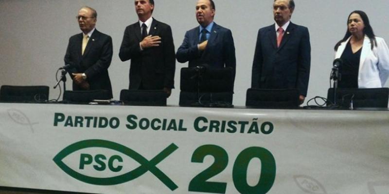 Bolsonaristas escolhem o PSC em busca de estruturas para as eleições municipais deste ano