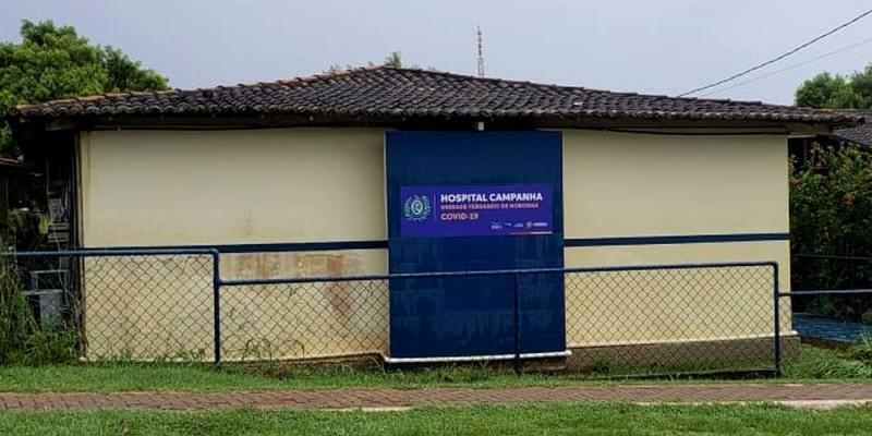 Unidade tem seis leitos, sendo dois para casos mais graves. A construção foi feita em 27 dias pelo governo de Pernambuco