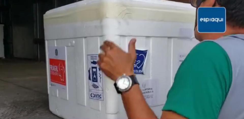 Segunda remessa de vacina contra covid-19 chega a IV Geres, em  Caruaru