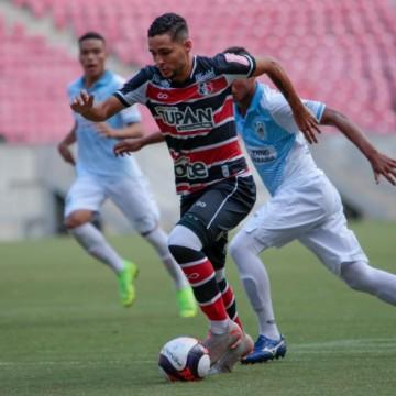 Santa e Sport se enfrentam pelas quartas de final do Pernambucano Sub-20