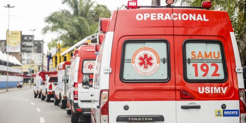 Na última segunda-feira, a média móvel diária de envio de ambulâncias respiratórias foi de 39,9