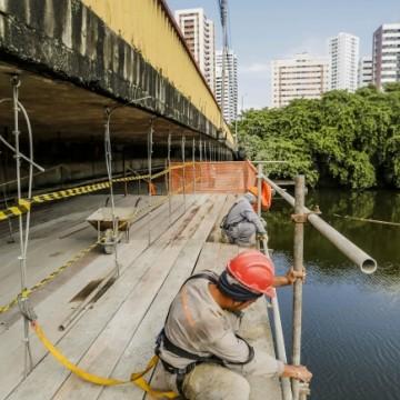 Recuperação da Ponte do Derby termina em março
