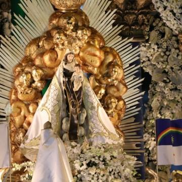 Festa da Padroeira do Recife acontece sem grande número de fiéis