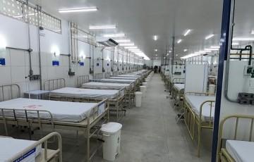 Começa a funcionar hospital de campanha em Olinda