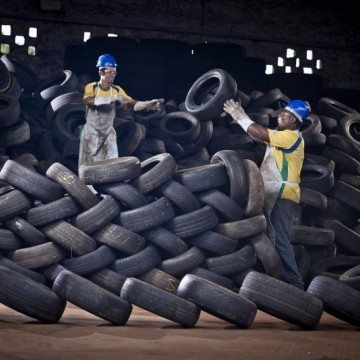 Indústria pneumática: 14 mil toneladas de pneus inservíveis foram coletados no estado em 2020
