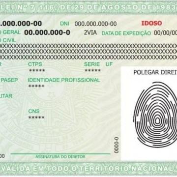 Novo modelo de carteira de identidade começa a ser emitido em PE nesta sexta (25)