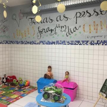 Crianças vítimas de violência recebem espaço requalificado no DPCA