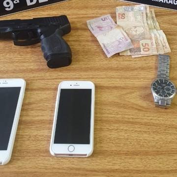 Três são detidos e um jovem apreendido no após assalto e fuga pelo Metrô, em Camaragibe
