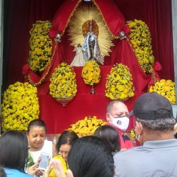 Nossa Senhora do Carmo celebrada de maneira diferente