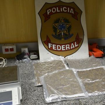 Homem suspeito de tráfico de drogas é preso no Aeroporto Internacional do Recife