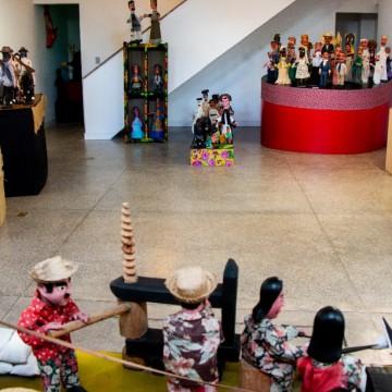 Museu do Mamulengo de Olinda faz oficina de boneco para comemorar o Dia Internacional do Museu