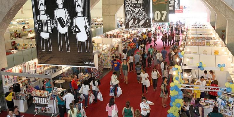 Maior feira literária do Nordeste começa nesta sexta