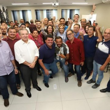 16 vereadores de Caruaru se filiaram ao PSDB