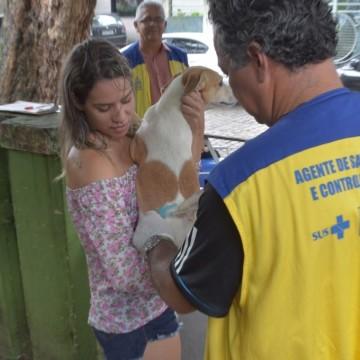 Campanha de Vacinação Antirrábica Animal deve iniciar neste sábado (24), no Recife