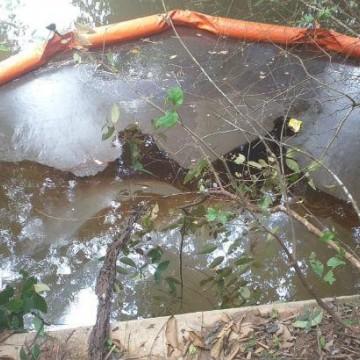 Vazamento de óleo na Refinaria Abreu e Lima atinge área de mangue