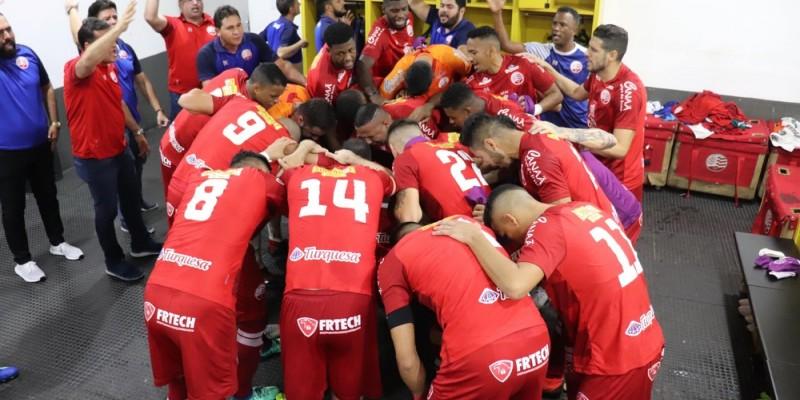 Time alvirrubro conquistou resultado importante contra o Paysandu, em Belém