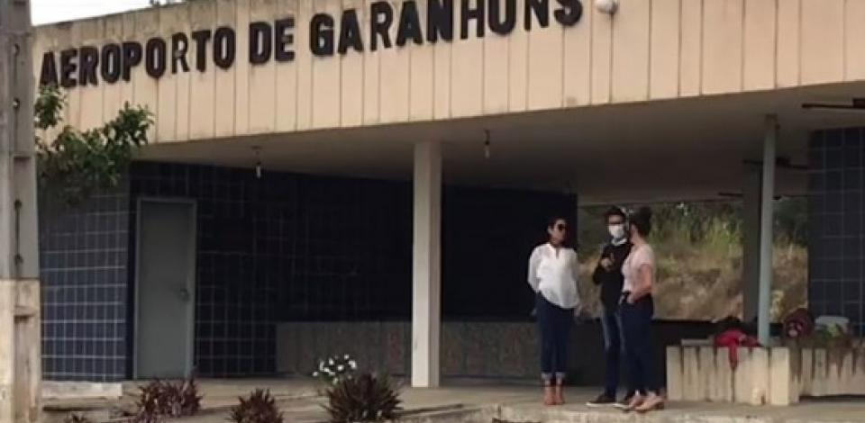 Aeroporto de Guaranhuns passará por obras de requalificação